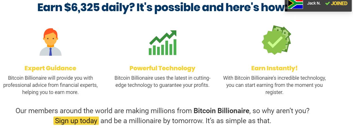 Bitcoin Billionare ¿Cómo funciona la aplicación Bitcoin Billionare?