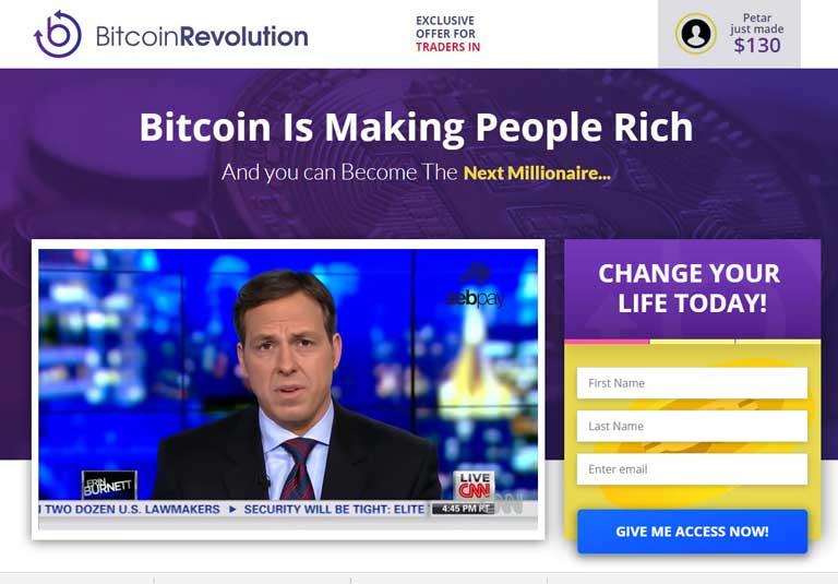 Bitcoin Revolution ¿Cómo se utiliza la aplicación Bitcoin Revolution?