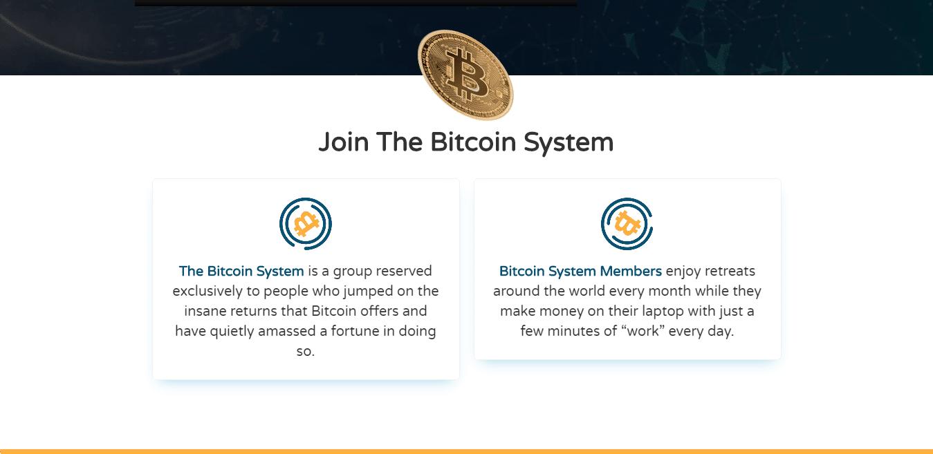 Bitcoin System ¿Cómo funciona la aplicación Bitcoin System?