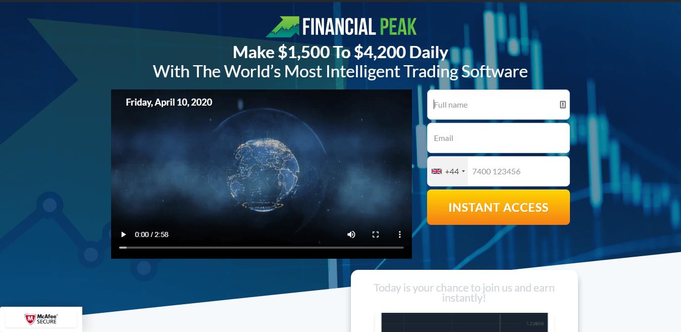 Financial Peak ¿Cómo se utiliza la aplicación Financial Peak?