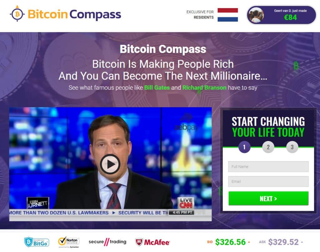Bitcoin Compass ¿Cómo se utiliza la aplicación Bitcoin Compass?