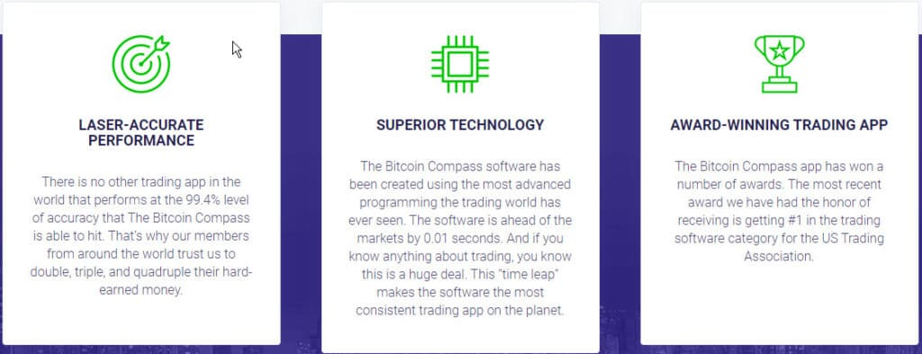 Bitcoin Compass ¿Cómo funciona la aplicación Bitcoin Compass?
