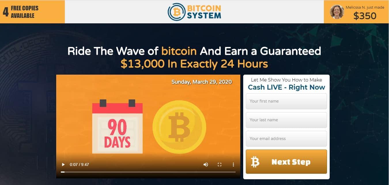 Bitcoin System ¿Cómo se utiliza la aplicación Bitcoin System?