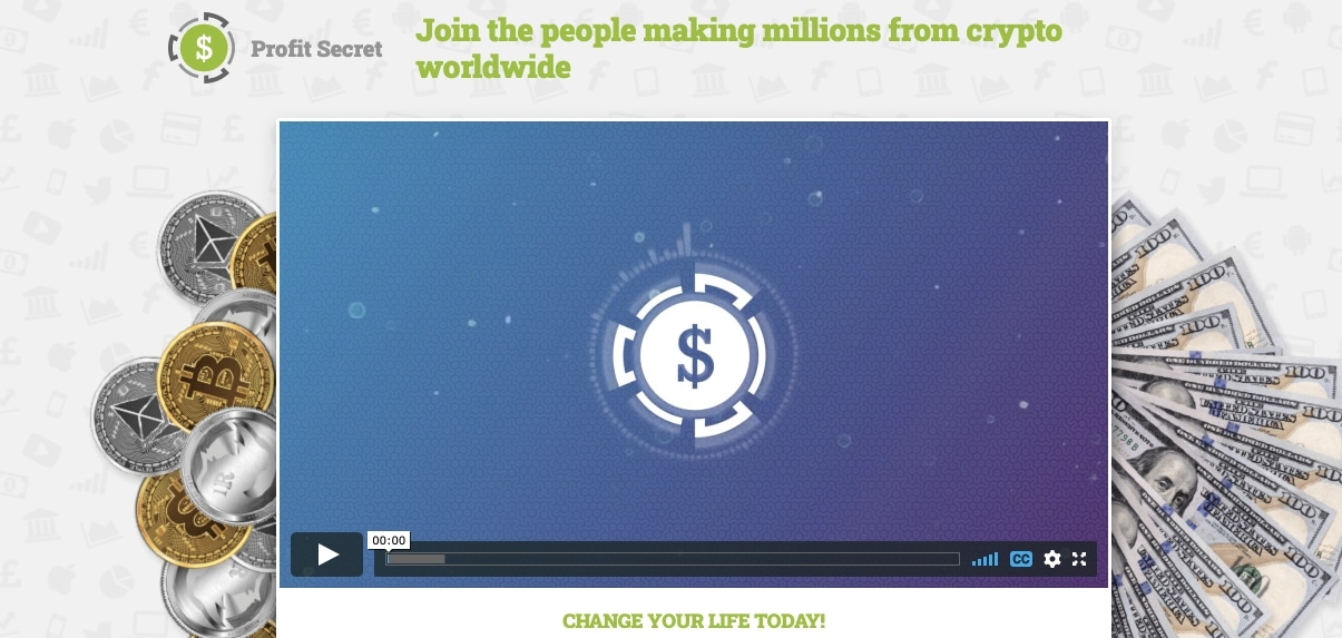 Profit Secret ¿Cómo se utiliza la aplicación Profit Secret?