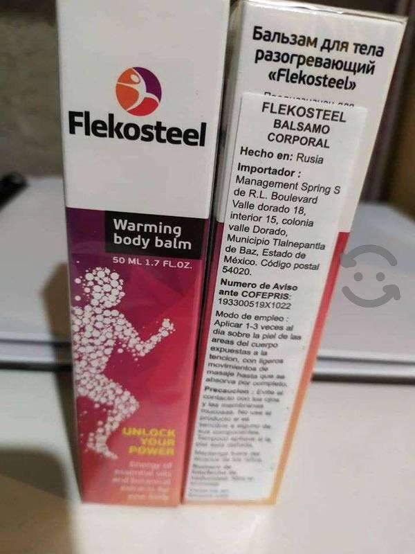 Flekosteel Instrucciones para el uso de Flekosteel