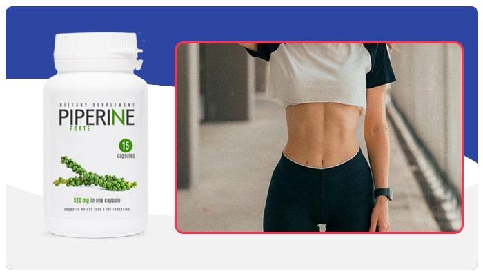 Piperine Forte Instrucciones para el uso de Piperine Forte