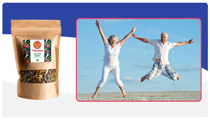 Tibettea Active Joint Instrucciones para el uso de Tibettea Active Joint