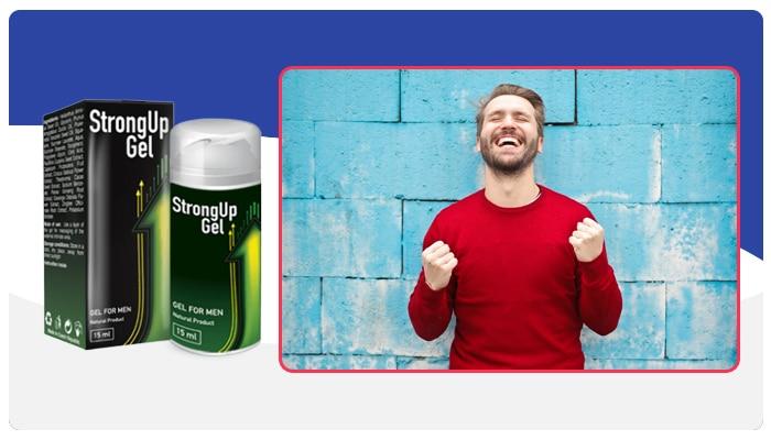 StrongUp Gel ¿Cómo funciona?